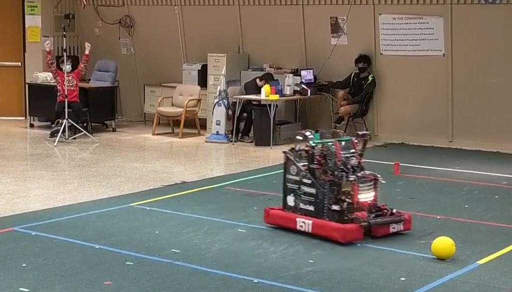 Infinite Recharge at Home 2021: AutoNav Challenge Videos