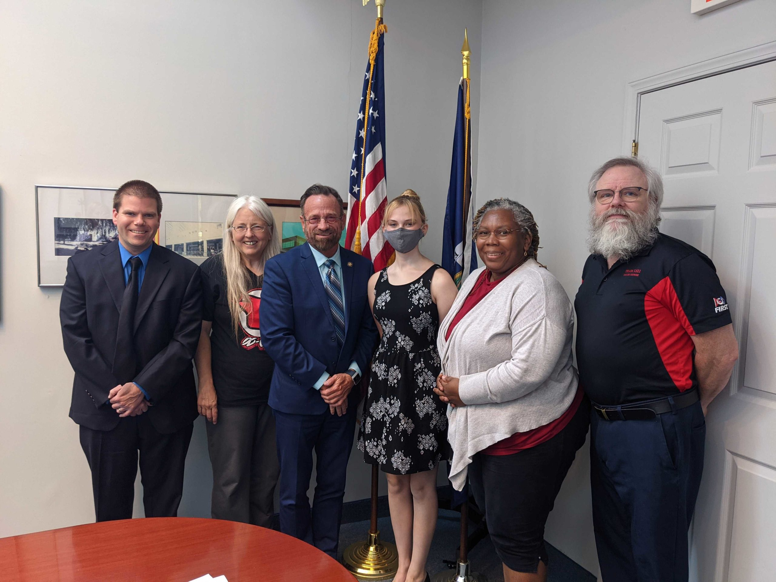 Read more about the article Meeting with NYS Assemblymember Harry Bronson